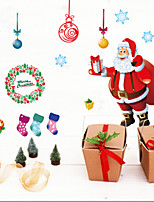 Christmas / Fashion Wall Stickers Plane Wall Stickers , PVC 90cm*60cm