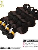 4 paquets beaucoup malaisien ondulé vague de corps de cheveux 100% vierge armure cheveu humain extensions de cheveux malaisiens bon marché