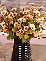 Soie / Plastique Chrysanthemum Fleurs artificielles