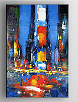 Hand Painted Abstract  Oil Painting with Stretched Framed Ready to Hang