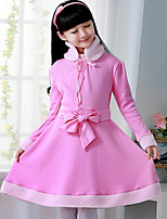 New Autumn Fashion Kids Girls Princess Wedding Party Dresses Children Clothes