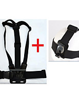 KingMa Chest Body Band with Elastic Adjustable Head Strap Mount for Gopro Hero 4 3+ 3 2 1