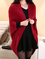 Women's Fashion Batwing Coat Shawls Loose Cardigan Outerwear More Colors