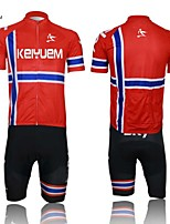 THINKOFF SAXO® Short Sleeve Summer Cycling Suits 3/4 TightsWaterproof / Breathable / Insulated / Quick Dry / Rain-Proof