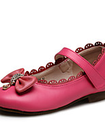 Girls' Shoes Wedding / Outdoor / Party & Casual Comfort / Round Toe / Closed Toe Leatherette Flats Red / White