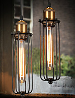 E27 8*30CM Line 1M American Country Industrial Creative Gladiator Restoring Ancient Ways Single Head Droplight LED 1PC
