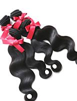 Peruaanse lichaam wave haar weeft hoogwaardige 4pcs / lot 1b Peruaanse onbehandeld haar 100% onbewerkt lichaam wave hair extensions