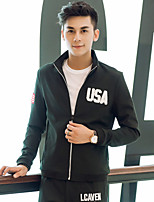 In the autumn of 2015 new young mens jacket jacket autumn decoration body thin men Korean men's casual tide