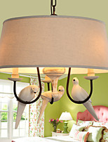 Pendant Lights LED Vintage Living Room / Bedroom / Dining Room / Study Room/Office / Kids Room / Game Room Resin