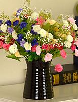 Seda / Plástico Lila Flores Artificiales