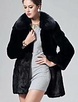Women Faux Fur Top Fur Coat