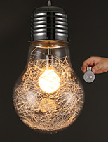E27 Line 1M Led Simple Ideas With A Large Light Bulb Glass Chandelier Personality Droplight Lamp