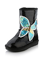 Women's Shoes Synthetic Flat Heel Snow Boots / Fashion Boots Boots Wedding / Party & Evening