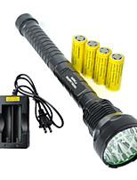 Linternas LED ( A Prueba de Agua / Recargable / Resistente a Golpes / Bisel de Impacto / Táctico / Emergencia / Zoomable ) - LED - para