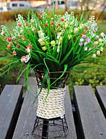 Plastic Campanula Artificial Flowers