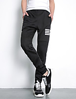 Men's Sweatpants , Casual Pure Cotton