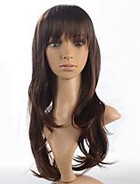 2015 donne parrucca di modo ombre naturale ondulato calore giapponese resistente sintetico capelli m56079- # 4 22