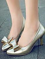Women's Shoes Sexy Stiletto Heel Basic Pump / Pointed Toe Heels Dress Silver / Gold