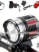 4 Mode 3600 Lumens Headlamp Bezel LED Cree XM-L2