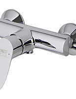 ENZORODI Shower Faucet Tap - Contemporary Style,Single Handle, Brass Chrome,Wall Mount ERF94898C