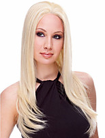 Capless Long Stylish Women Natural Healthy Hair Wave Girl Straight Blonde Wigs