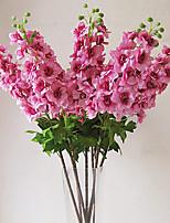 Austin Delphinium in Silk Cloth Artificial Flower for Home Decoration(5Piece)