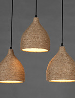 Lampe suspendue - Contemporain / Traditionnel/Classique / Rustique / Vintage - avec LED - Résine