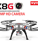 New!Syma X8G with 8.0MP HD Camera RC Quadcopter Drone 360 Flip Big Size Strone Power