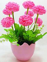 Soie / Plastique Hortensias Fleurs artificielles
