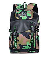 Women Canvas Baguette Backpack - Pink / Blue / Green / Yellow