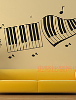 Music / Fashion Wall Stickers Plane Wall Stickers , PVC 55cm*33cm