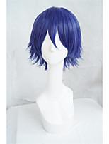 Lanting cos tokyo ghoul Kirishima ayato azul púrpura corta cosplay del anime del partido peluca de pelo