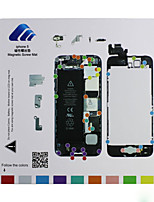 Magnetic Screw Mat Technician Repair Pad Guide for iPhone 5