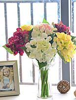Polyester / Plastique Hortensias Fleurs artificielles