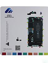 Magnetic Screw Mat Technician Repair Pad Guide for iPhone 4
