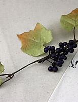 Silk / Plastic Plants Artificial Flowers 2pcs/set