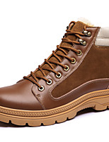 Men's Shoes Outdoor / Office & Career / Casual Suede Boots Black / Brown