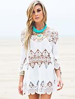 Women's Bohemian Crochet Beach Tunic