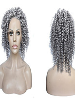 New Arrival 8A Brazilian Grey Virgin Hair Full Lace Wig Grey Ombre Human Hair Wig Custom Order