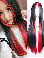 Synthetic Women Wig Ombre Tone Mix Color Heat Resistant Hair Wigs