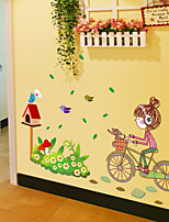 Animals / Fashion / People Wall Stickers Plane Wall Stickers , PVC 50cm*70cm