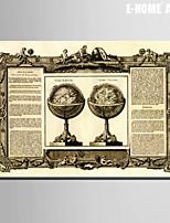 Abstracto Impresión de la lona Un Panel Listo para colgar , Vertical
