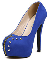 2015 Hot European Brand Style Ladies Sexy Rivet Swede Leather Wedding Shoes High Heels Platform Pumps Valentine Shoes