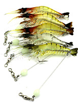 1 pcs Others Craws / Shrimp Random Colors 6.6 g Ounce mm inch,Hard Plastic Bait Casting