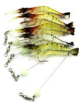 1 штук Прочее Креветка Случайный цвет 6.6 г Унция mm дюймовый,Жесткие пластиковые Ловля на приманку