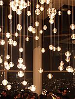 G9 10*21CM Line 1.5M Led Restaurants All Over The Sky Star Bocci Droplight Aurora Borealis Modern Glass Crystal Lamp 1PC
