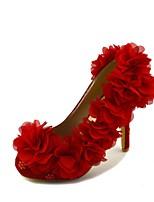 Women's Shoes Stiletto Heel Heels Pumps/Heels Wedding/Party & Evening/Dress Red