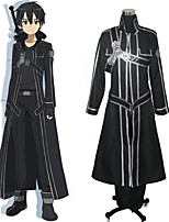 Anime Cosplay Costume Inspired by Sword Art Online Kirito/Kazuto Kirigaya
