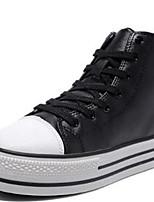 Da donna-Sneakers-Casual / Sportivo-Creepers-Plateau-Nappa-Nero