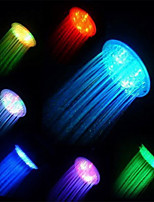 Led Anion Shower Nozzle Temperature Control Three Color Light Emitting Colorful Showerheads Showerhead